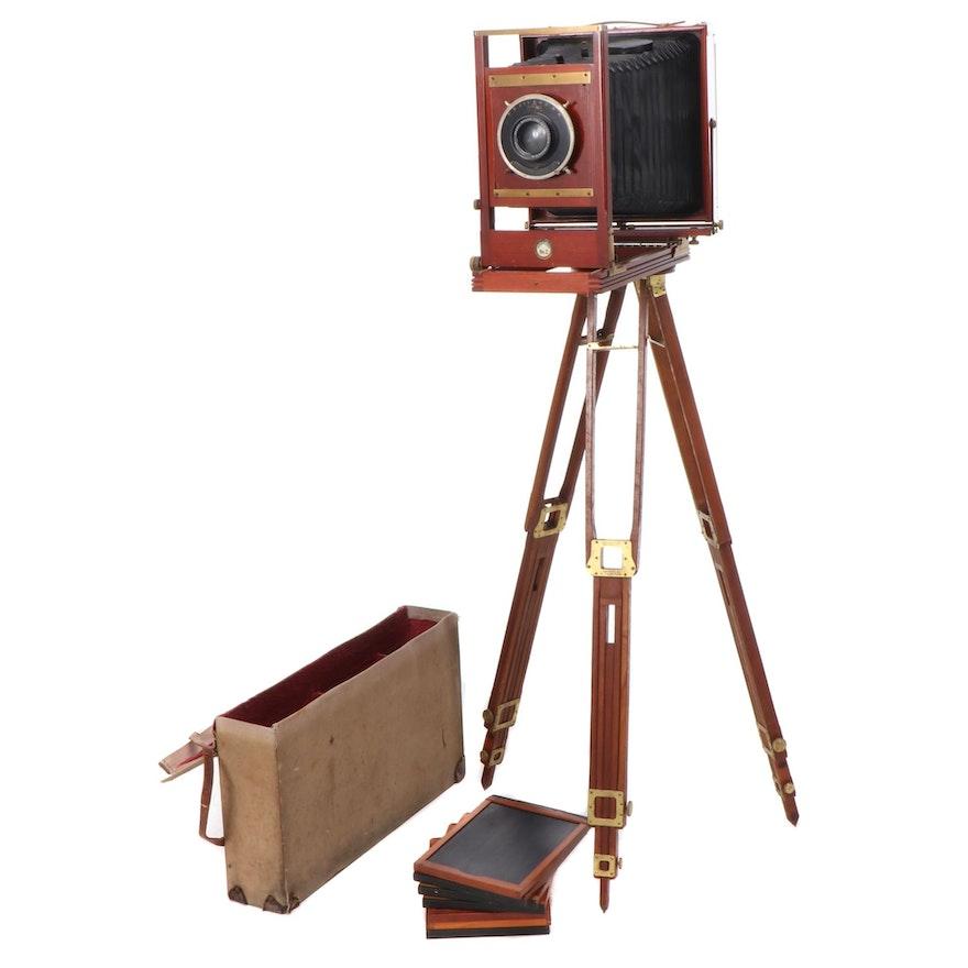 Century No. 2 8x10 View Camera with Tripod, Circa 1904