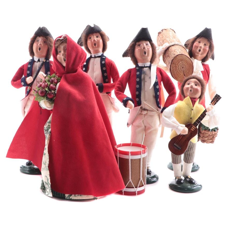 Byers' Choice Ltd. Williamsburg Caroler Figurines