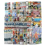 """Silver and Modern Age Marvel Comics Including """"Fantastic Four,"""" 1969 and 1990s"""