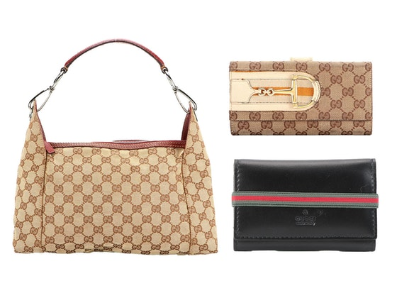 Featuring the House of Gucci; Handbags & Accessoriies