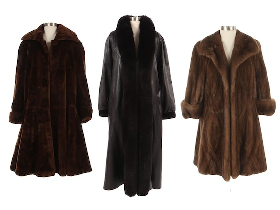 Men's & Women's Leather and Fur Outerwear