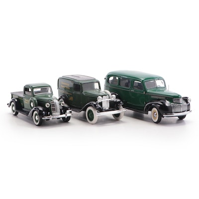 Franklin Mint 1946 Suburban and Other Hemming Motor News Diecast Vehicles
