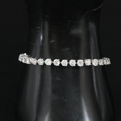 14K 11.00 CTW Diamond Line Bracelet