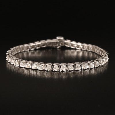 10K 3.02 CTW Diamond Line Bracelet