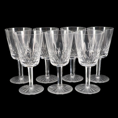 """Waterford Crystal """"Lismore"""" Water Goblets"""