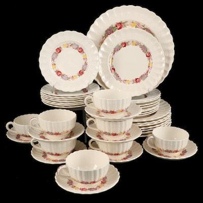 "Spode ""Rose Briar"" Earthenware Dinnerware, 1932–1971"