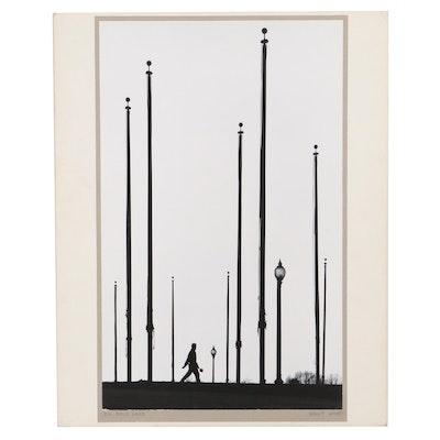 "Grant Haist Silver Print Photograph ""In Pole Land"""