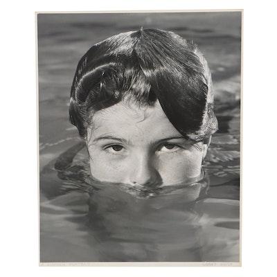 """Grant Haist Silver Print Photograph """"A Summer Portrait"""""""