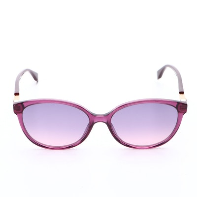 Fendi FF 0373/S Oval Sunglasses with Case