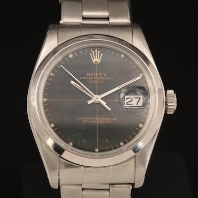 1978 Rolex Oyster Perpetual Date Crosshair Dial Wristwatch