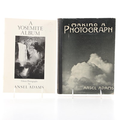 """""""Making a Photograph"""" and """"A Yosemite Album"""" by Ansel Adams"""