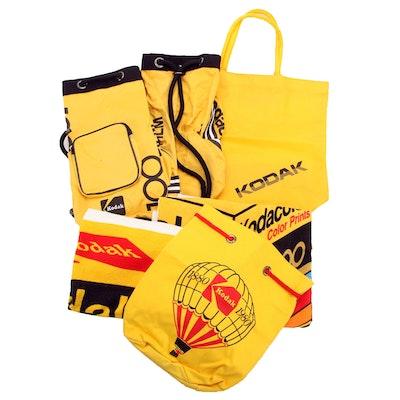Kodak Kodacolor Towels, Totes and Backpacks, 1980