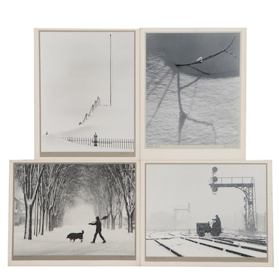 """Grant Haist Silver Gelatin Photographs """"Winter Hill"""" and More"""