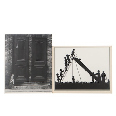 """Grant Haist Silver Prints """"Child's Play"""" and """"Threshold"""""""