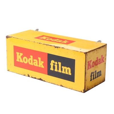 Kodak Film Hanging Metal Display Box Sign