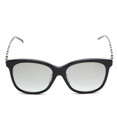 Gucci GG0655SA Black Square Sunglasses with Case