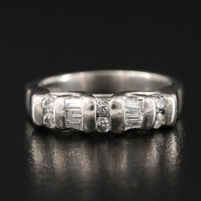 Platinum 0.33 CTW Diamond Ring