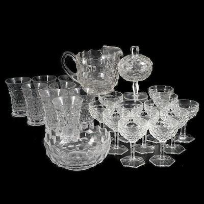 "Fostoria ""American Clear"" Glassware Including Pitcher, 1915–1982"