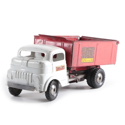 Structo Toys Toyland Construction Company Pressed Steel Dump Truck