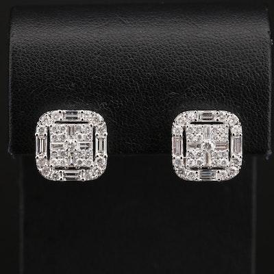 14K 2.33 CTW Diamond Earrings