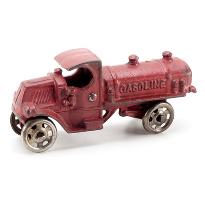 Arcade Cast Iron Gasoline Truck, Early 20th Century