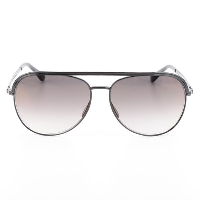 Elie Saab ES 012/S Aviator Sunglasses with Case