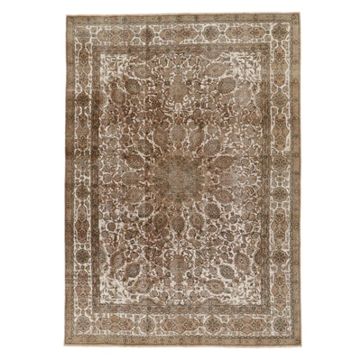 8'3 x 11'6 Hand-Knotted Persian Nain Area Rug