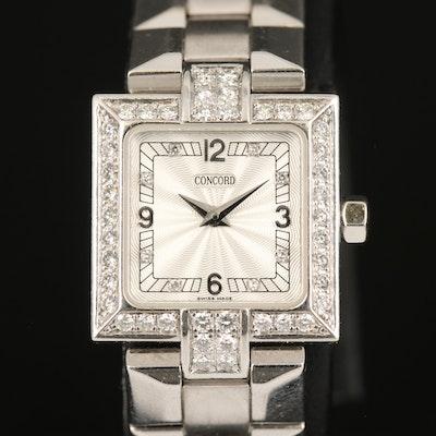 Concord LaScala 18K 1.04 CTW Diamond Wristwatch