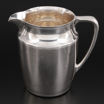 Tiffany & Co. Sterling Silver Pitcher, Mid to Late 20th Century