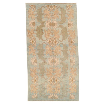 6'9 x 12'11 Hand-Knotted Turkish Donegal Area Rug