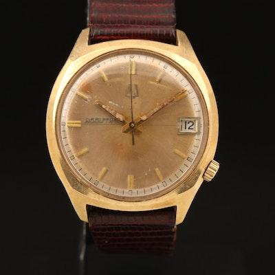 14K Bulova Accutron Wristwatch