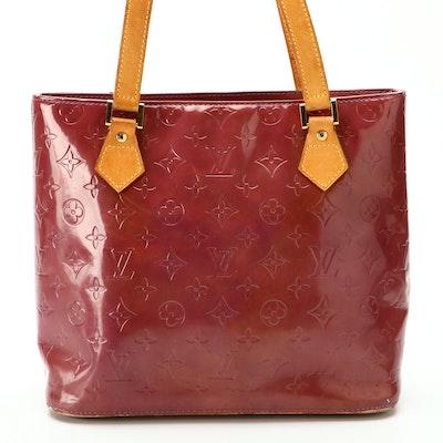 Louis Vuitton Houston Shoulder Bag in Monogram Vernis