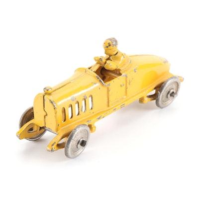 Cast Iron Race Car, Early 20th Century