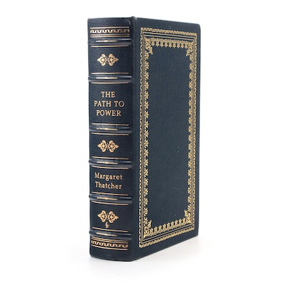"""Signed Limited First Edition """"The Path to Power"""" by Margaret Thatcher, 1995"""