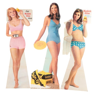 Kodak Film Lifesize Cardboard Cutout Standup Advertisements