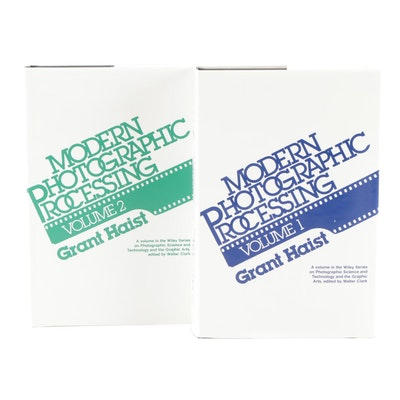 """""""Modern Photographic Processing"""" Two-Volume Set by Grant Haist, 2000"""