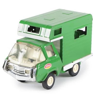 Tonka Pressed Steel RV Camper Toy, Mid-20th Century