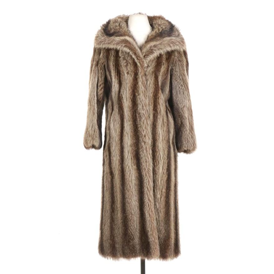 Raccoon Fur Coat From Malter Furs Inc.