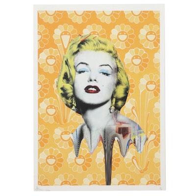 "Death NYC Marilyn Monroe Pop Art Graphic Print ""DEATHD82,"" 2020"