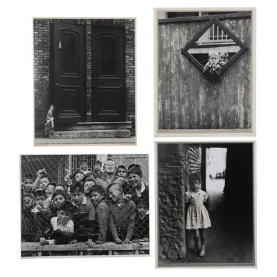 "Grant M. Haist Silver Gelatin Photographs ""School Kids"" and More"