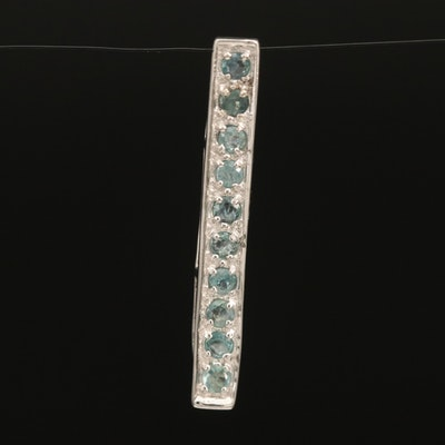 Sterling Alexandrite Pendant