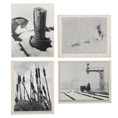 """Grant M. Haist Silver Gelatin Photographs """"Winter Fast"""" and More"""