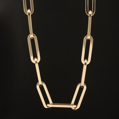 Italian 14K Oval Chain