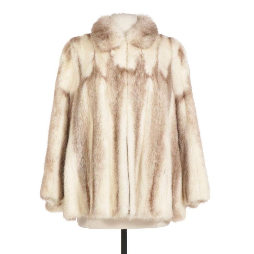 Mink Fur Zip Coat By Geo. Tunis For Bricker