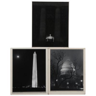 "Grant M. Haist Silver Gelatin Photographs ""Washington Lights"" and More"