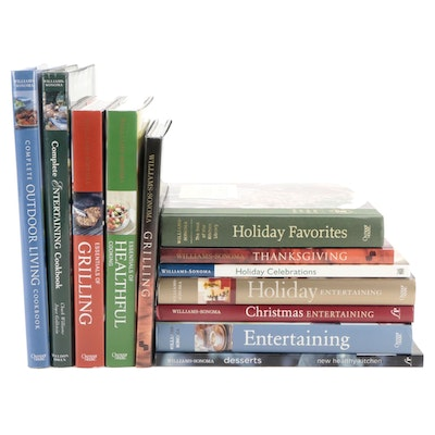 """Williams-Sonoma Cookbook Collection Including """"Holiday Favorites"""""""