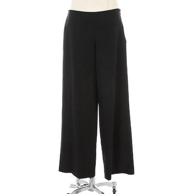 Elie Tahari Black Wool Trousers