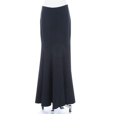 Oscar de la Renta Full-Length Skirt in Double-Faced Wool Crepe