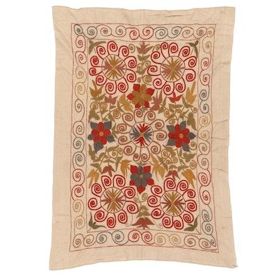 Handmade Afghan Embroidered Wall Hanging