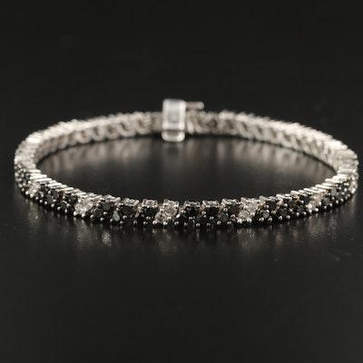 10K 3.83 CTW Diamond Tennis Bracelet